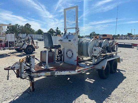 (Villa Rica, GA) 1997 Sherman & Reilly T/A 4-Drum Puller/Tensioner, (AL Power Unit) Runs & Operates