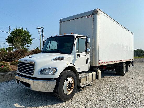 (Villa Rica, GA) 2016 Freightliner M2 106 Van Body Truck, (GA Power Unit) Runs & Moves