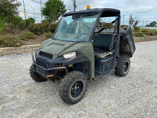 (Villa Rica, GA) 2014 Polaris Ranger 900 4x4 Yard Cart, (Southern Company Unit) Not Running, Conditi