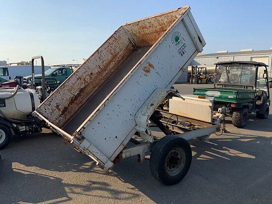 Dump Trailer No ID plate) (No Title, dump operates