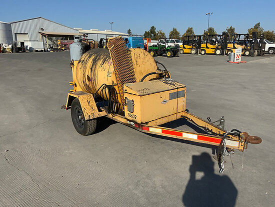 2006 Diamond PM230T Portable Tar Kettle/Melter Applicator, trailer mtd Condition unknown, No Title