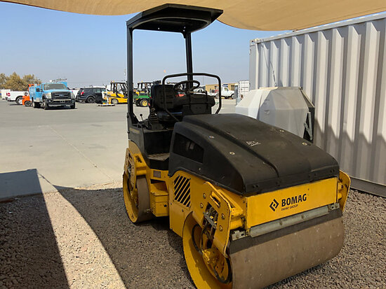 2006 Bomag BW120AD-4 Articulating Double-Drum Vibratory Roller Runs, moves & operates
