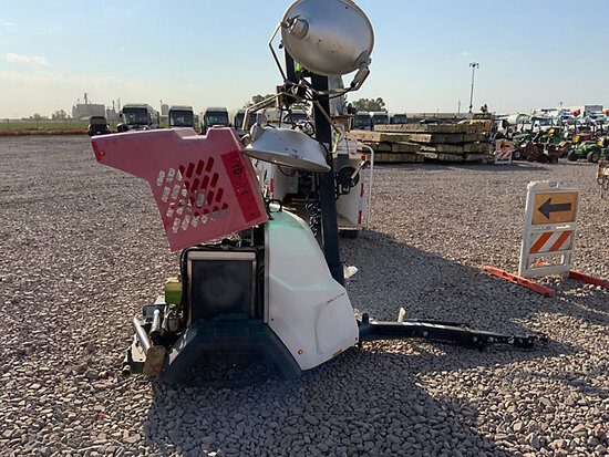 2016 Generac/Magnum Products MLT6SK-01 Portable Light Tower, trailer mtd. No Title) (runs & operates