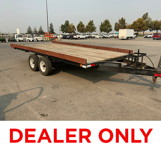 19xx Custom Made 8 ft x 14 ft T/A Tagalong Trailer DEALER ONLY, No vin#, No Title