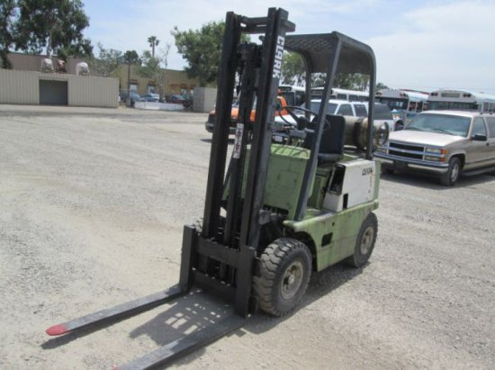 Clark CY20B Warehouse Forklift | Auctions Online | Proxibid