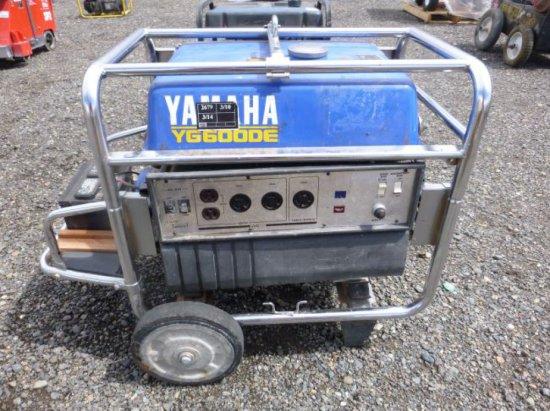 Yamaha YG6000DE Gas Generator | Auctions Online | Proxibid