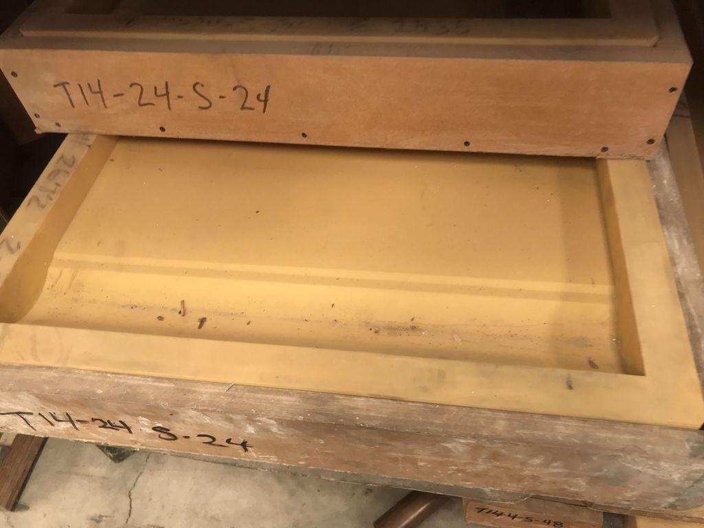 Decorative Concrete Molds approximately 850 +/-