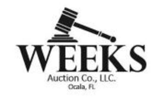 Weeks Ocala Public Equipment Auction