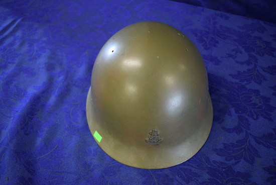 RARE WWII IMPERIAL JAPANESE T92 SNLF HELMET!