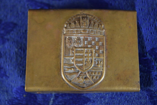 HUNGARY HONVED HOME DEFENSE BUCKLE!
