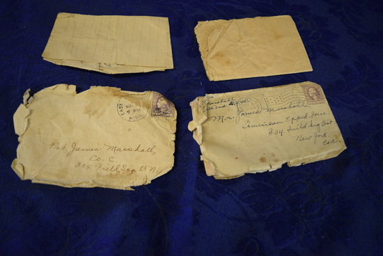 WWI SOLDIER LETTERS FROM HOME!