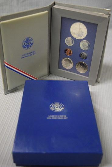 1986 PRESTIGE COIN SET!