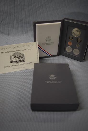 1991 PRESTIGE COIN SET!
