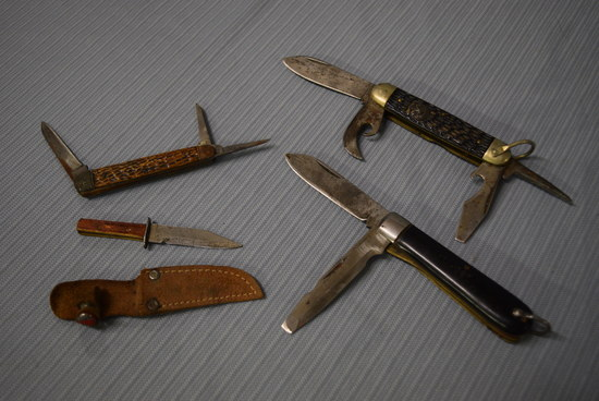EARLY VINTAGE KNIFE LOT!