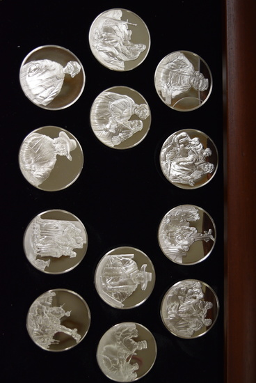 #7 THE GENIUS OF REMBRANT 50 COIN COLLECTION!