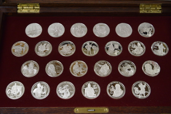 #12 COOK ISLANDS COINS OF THE GREAT EXPLORERS!