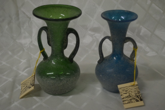 EXCEPTIONAL HAND BLOWN VASES!