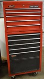 CRAFTSMAN STACKED/ROLLING TOOL BOX!