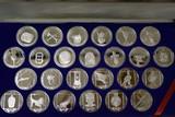 #4 25 STERLING SILVER BRITISH VIRGIN ISLAND COINS!