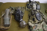 MILITARY GAS MASK LOT!