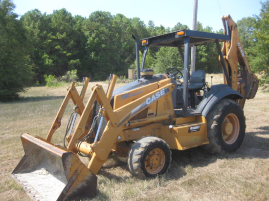 CASE 580 SUPER M 4X4 LOADER BACKHOE SN JJG0283065