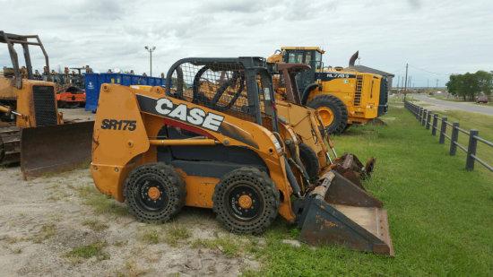 2011 CASE SR175 SKID LOADER SN NBM428231