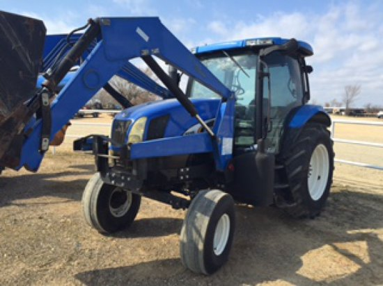 NEW HOLLAND 115A TRACTOR SN 234405