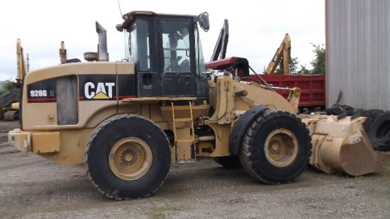 2006 CAT 928GZ RT LOADER SN DJD02144