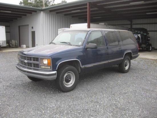1997 CHEVROLET 2500 SUBURBAN
