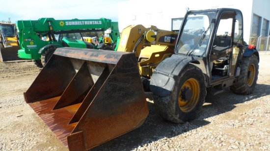 2012 CAT TH406 TELESCOPIC FORKLIFT SN  TBX00556