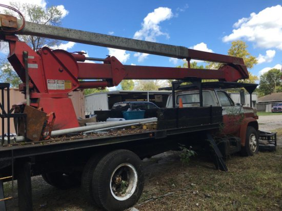1984 CHEVROLET C70 REACH ALL BUCKET TRUCK ,