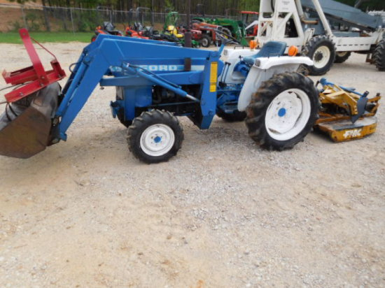 FORD 1510 4X4 TRACTOR SN UH03306