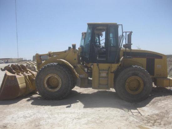 CAT 950G RT LOADER SN 5FW00404