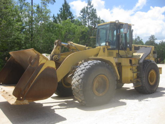 CAT 966F-II RT LOADER SN 9YJ01223