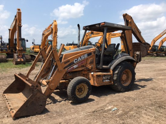 2008 CASE 580M LOADER BACKHOE SN N8C500378