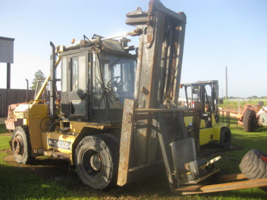 2002 TAYLOR THD300SD1 FORKLIFT SN 30357