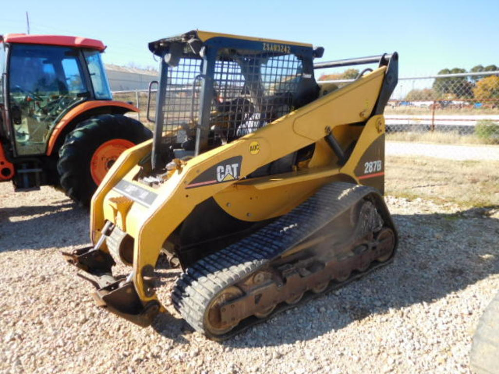 CAT 287B MULTI TERRAIN LOADER