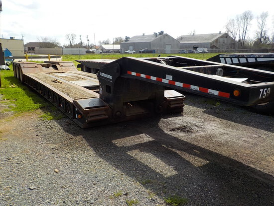 2006 LOAD KING 553S8 RGN LOWBOY TRAILER