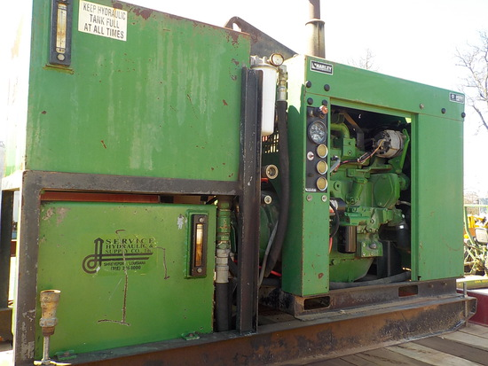 JOHN DEERE HYD. POWER UNIT