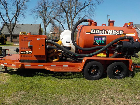 DITCH WITCH FX30 HYDRO VACUUM RIG