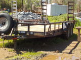 2006 TRAIL MASTER BUMPER HITCH TRAILER