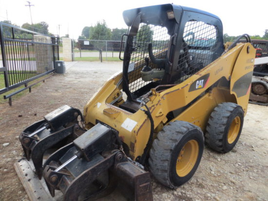 CAT 256C SKID STEER LOADER SN CAT0256CPDW500337