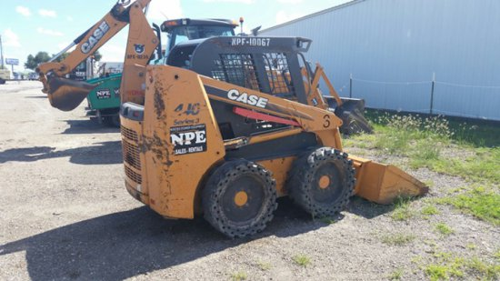 2008 CASE 440 SKID LOADER SN NBM4B3420