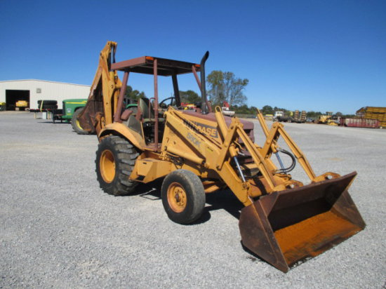CASE 580K LOADER BACKHOE SN JJG0018492