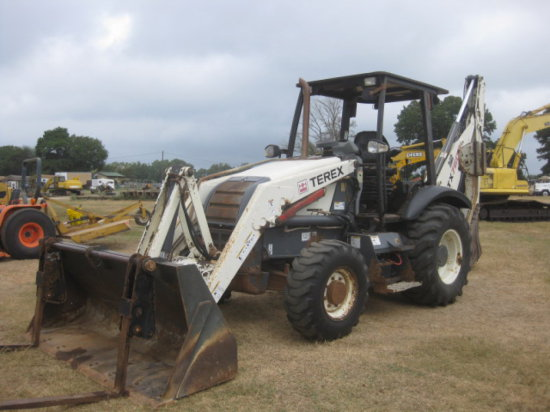 2008 TEREX 760B 4X4 LOADER BACKHOE SN