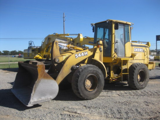 DEERE 544H RT LOADER SN 569478