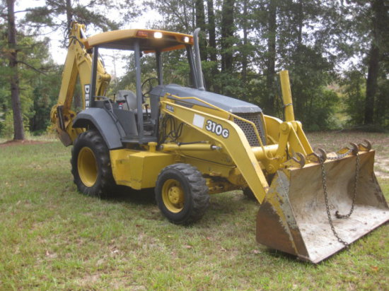 2002 DEERE 310G 4X4 LOADER BACKHOE SN 907223