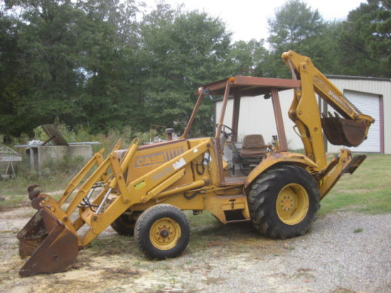 CASE 580K LOADER BACKHOE SN JJG00031332