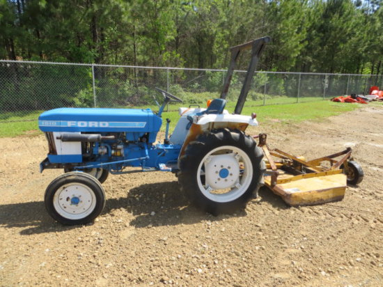 FORD 1510 TRACTOR W/ 4' CUTTER