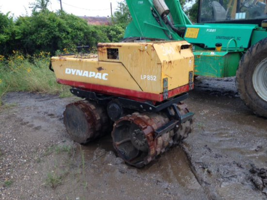 DYNAPAC LP852 TRENCH COMPACTOR SN 48610132